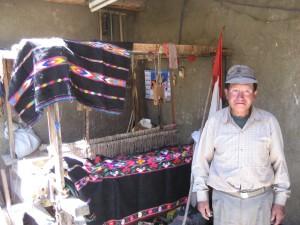 A Weaver in Miraflores